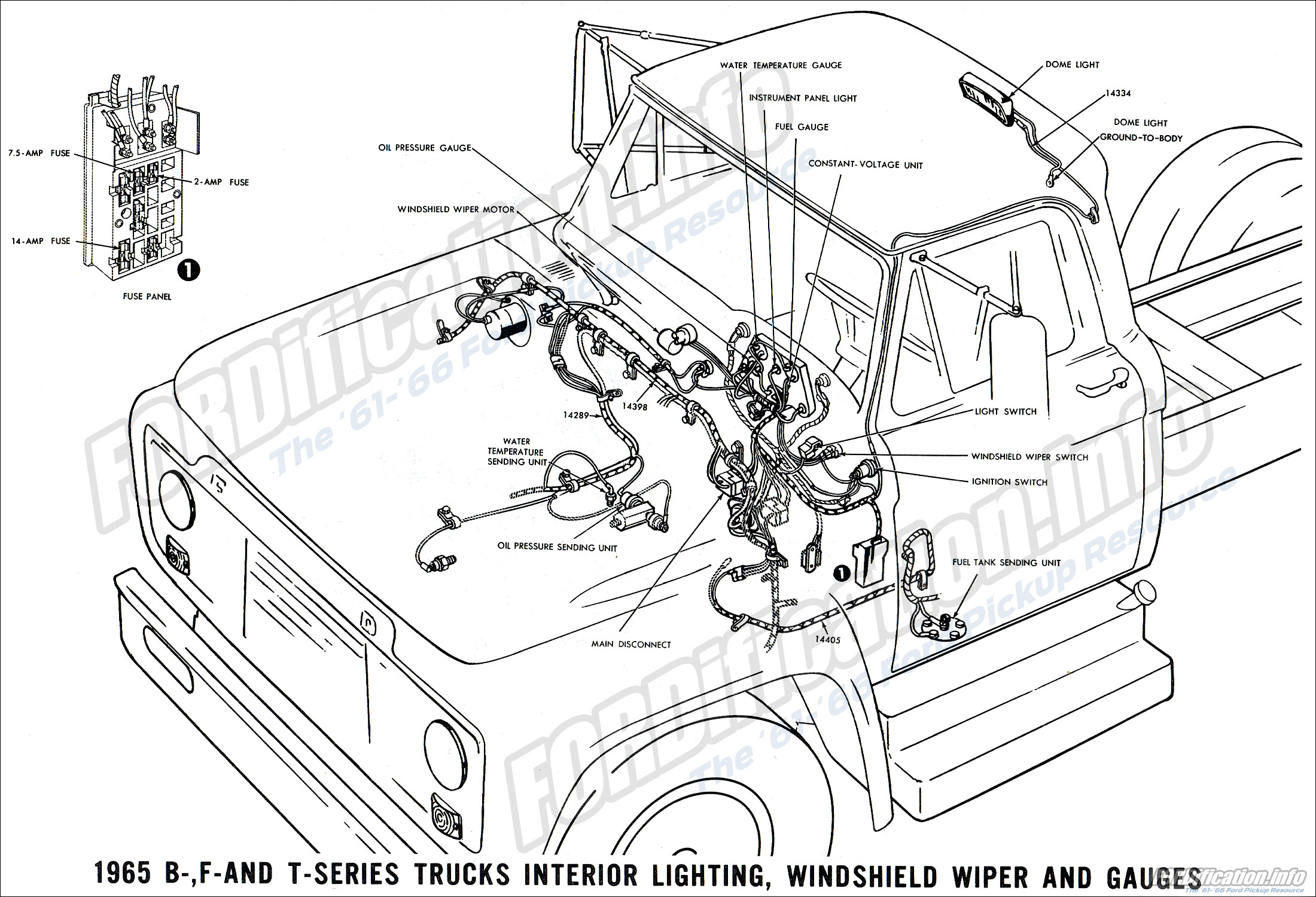 1fb8a Ford F700 Truck Wiring Diagrams