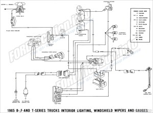 1963 FORD F100 WIRING DIAGRAM  Auto Electrical Wiring Diagram