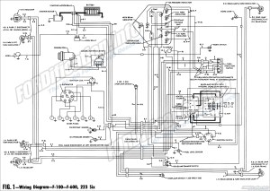 1961 Ford Truck Wiring Diagrams  FORDificationinfo  The