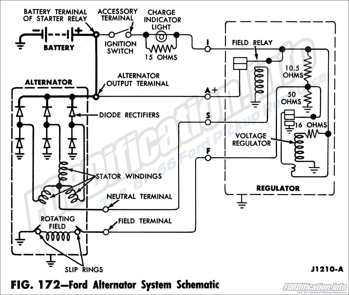 Pontiac Alternator Wiring