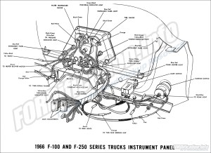 1966 Ford Truck Wiring Diagrams  FORDificationinfo  The