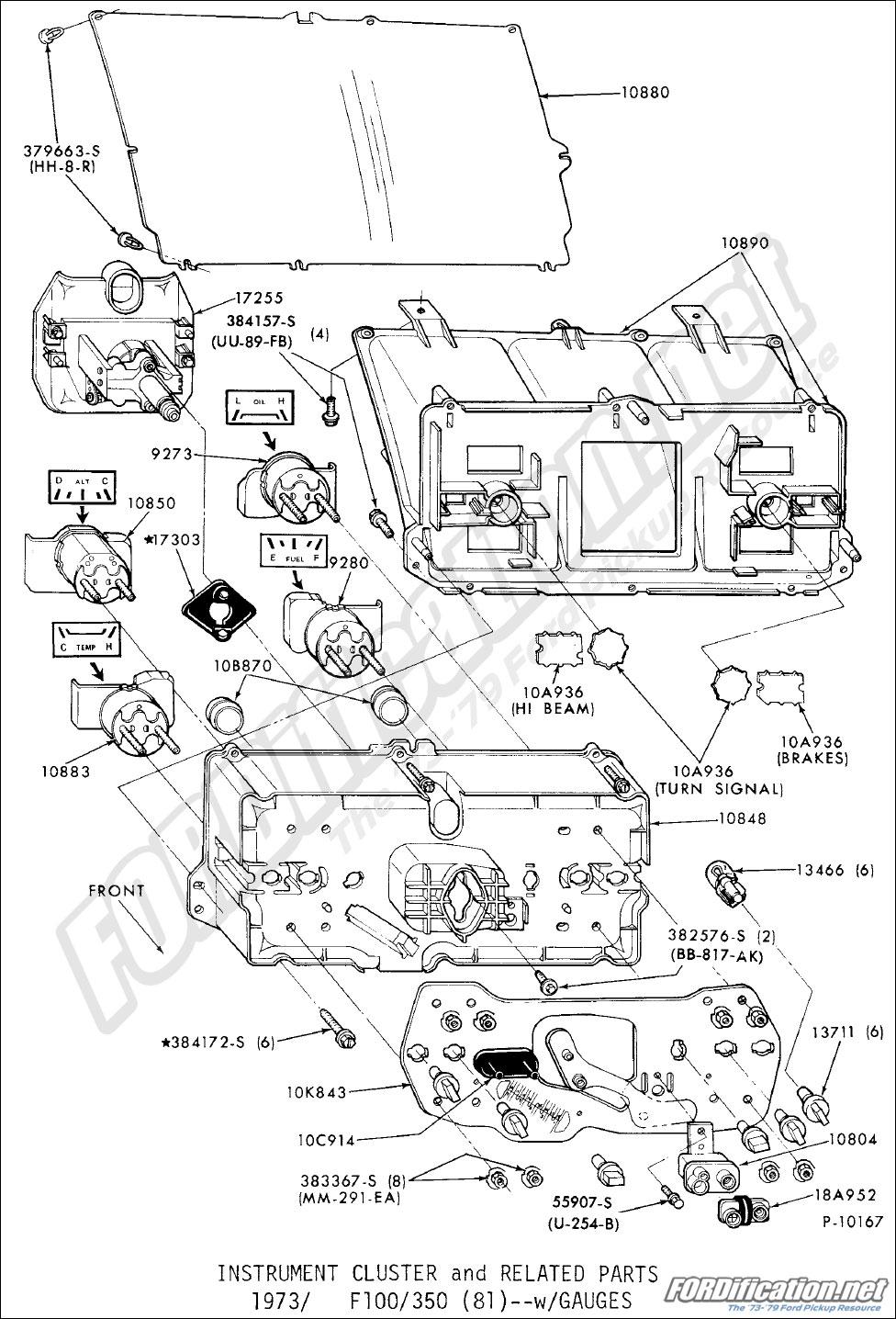 Ford Truck Parts Schematics