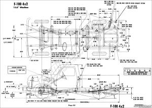 frame diagrammeasurements  Ford Truck Enthusiasts Forums