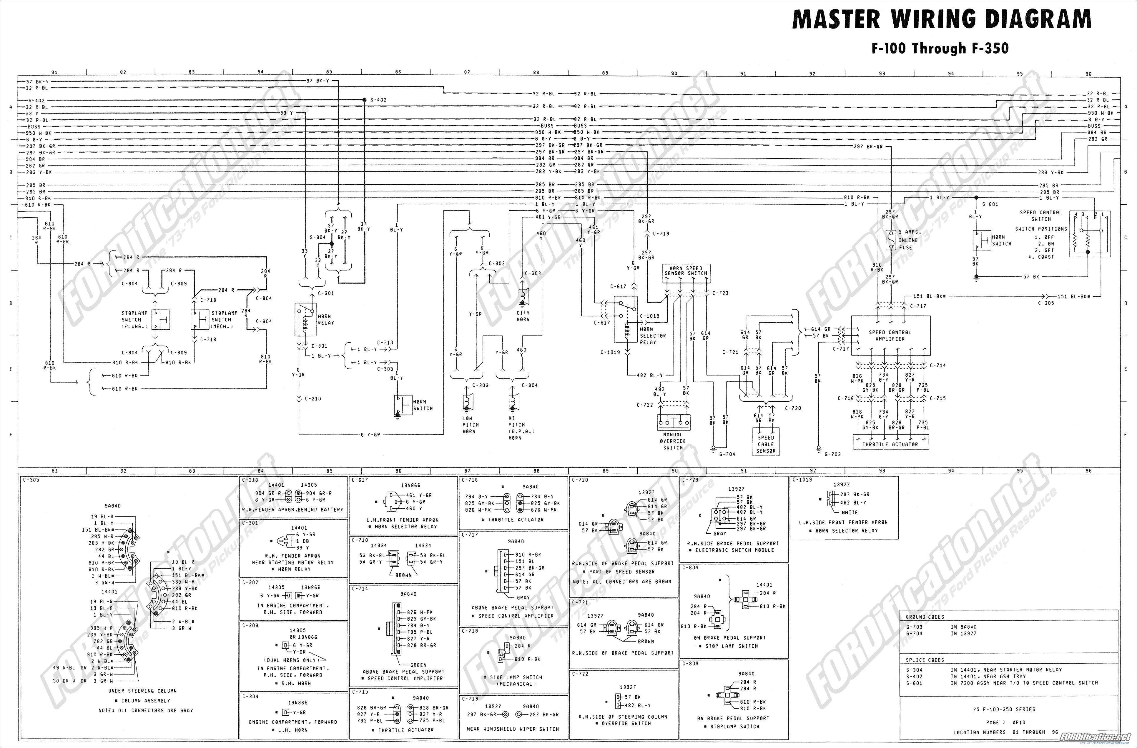 Ford E Van E100 E200 E300 1 2 3 4 1 Ton 74 Wiring