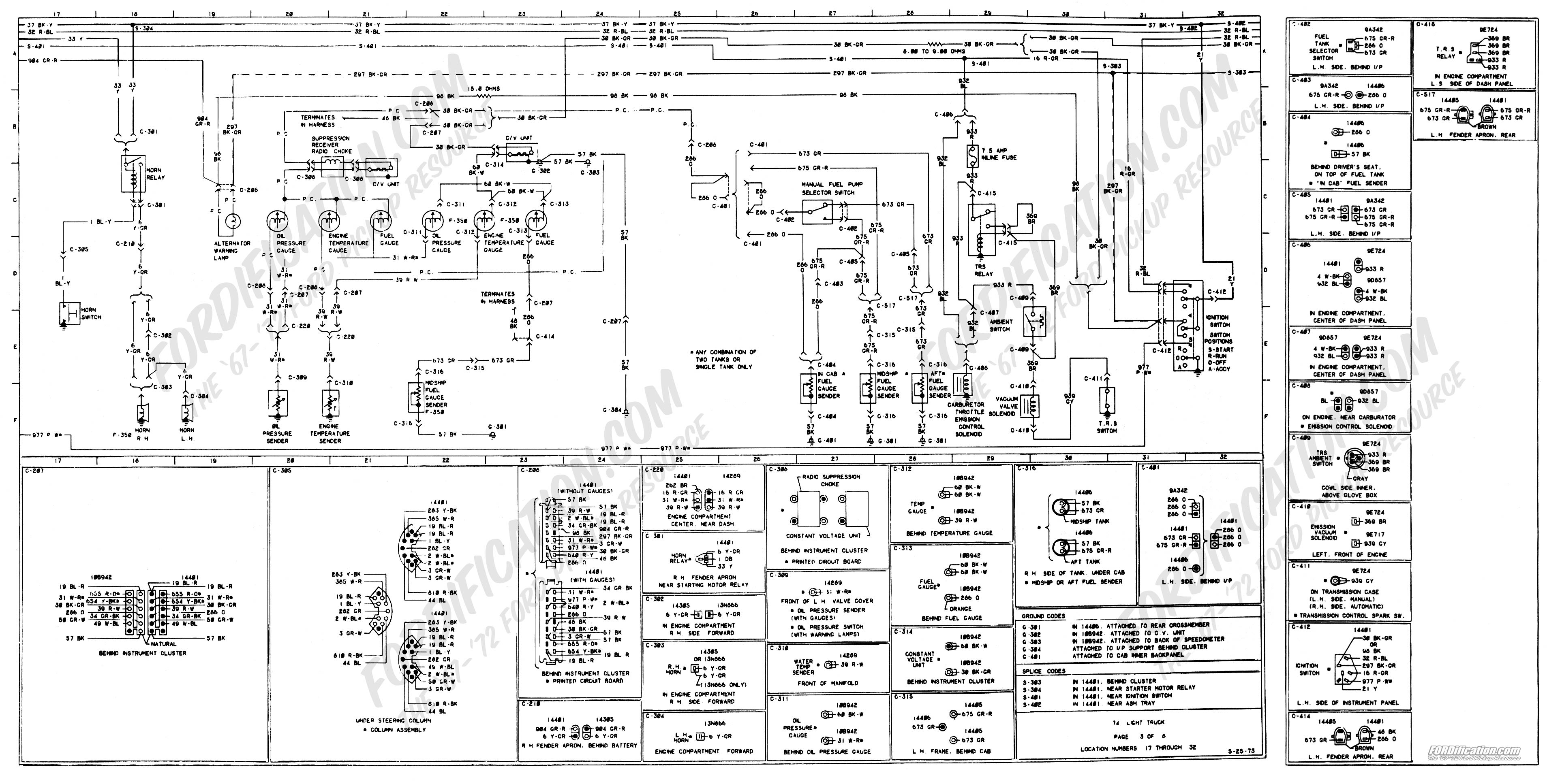 94 F350 Wiring Diagrams