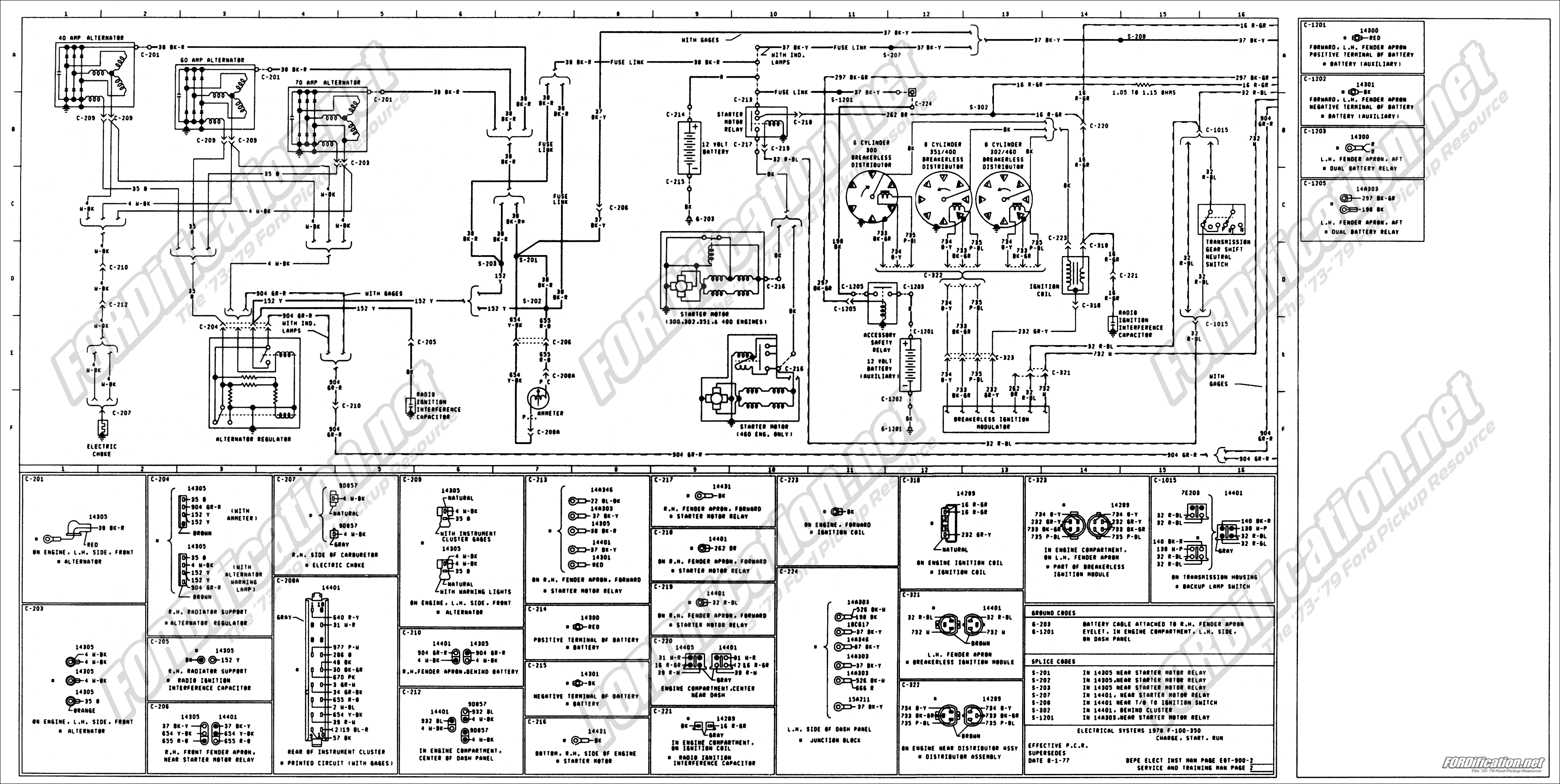 78 Ford F250 Wiring Diagram