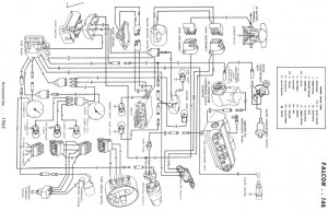 wiring diagram, 65 merc et with AC  Ford Muscle Forums