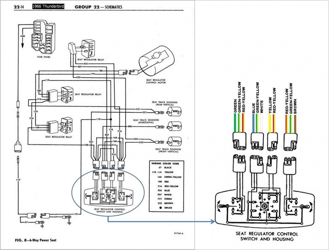 Thunderbird Convertible Top Wiring Diagram