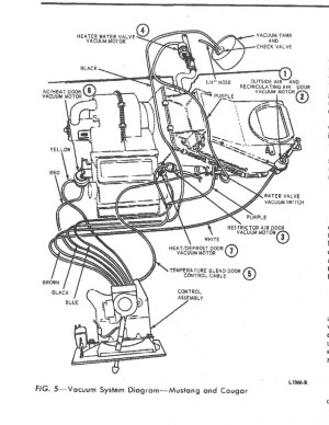 Primary vacuum system location  Vintage Mustang Forums