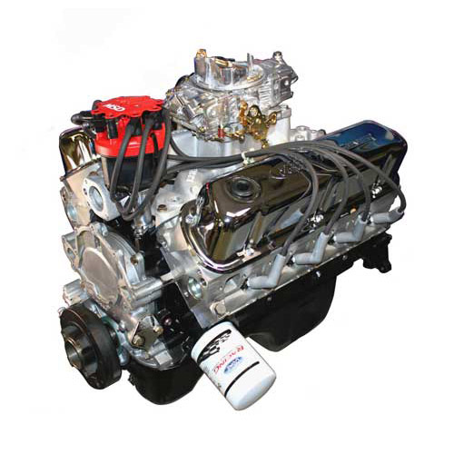 X302/340 HP CRATE ENGINE WITH CARB, INTAKE AND DISTRIBUTOR 15