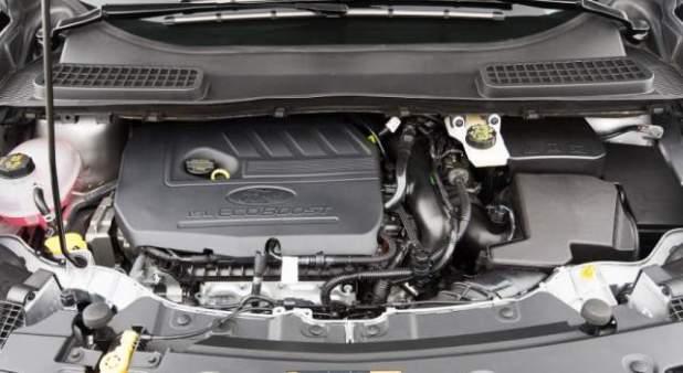 2018 Ford Kuga engine