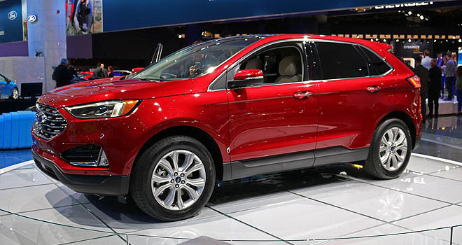 2019 Ford Edge DetroitCarShow