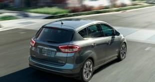 2019 Ford C-Max hybrid back