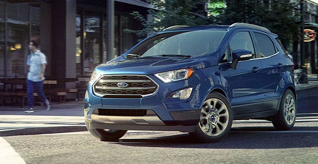 2019 Ford EcoSport New Colors for Subcompact SUV - Ford Tips