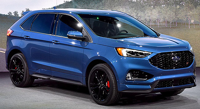 2019 Ford Edge ST front