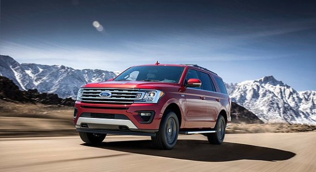 2019 Ford Expedition Hybrid exterior