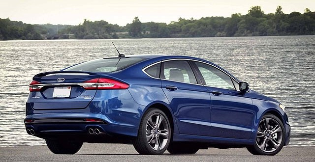 2019 Ford Fusion Sport rear