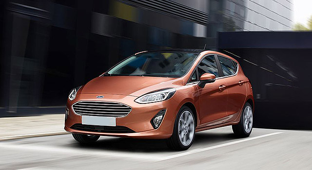 2019 Ford Fiesta front