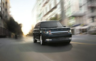 2019 Ford Flex front
