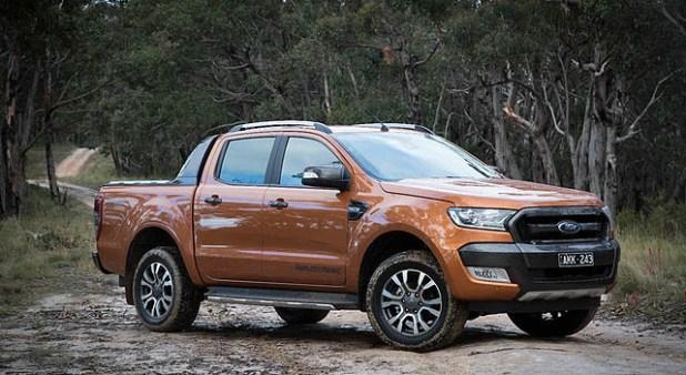 2019 Ford Ranger Wildtrak front side