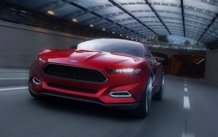 2019 Ford Thunderbird front
