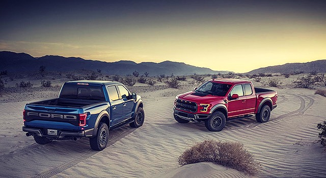 2019 Ford F150 Raptor With 7.0 DOHC V8 Engine