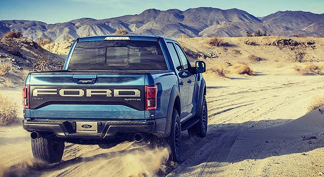 2019 Ford F150 Raptor rear