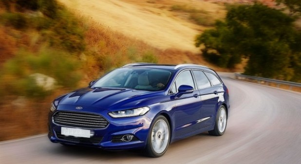 2019 Ford Mondeo and Mondeo Wagon front