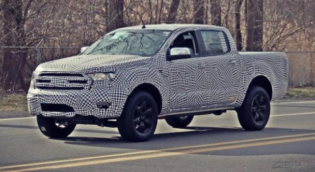 2020 Ford Ranger Raptor SpyShot