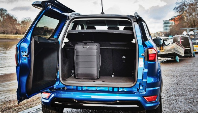 2020 Ford EcoSport trunk - Ford Tips