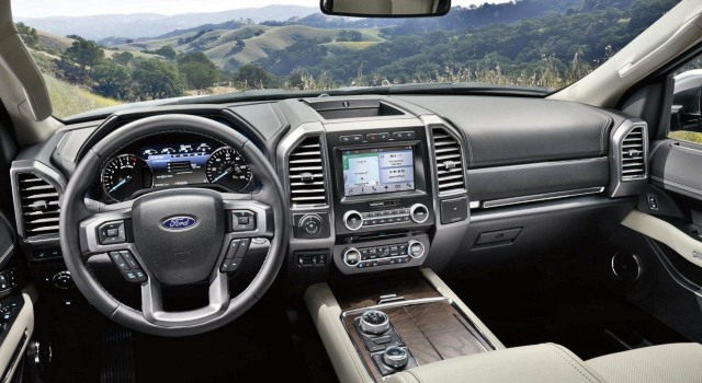 2020 Ford Expedition interior
