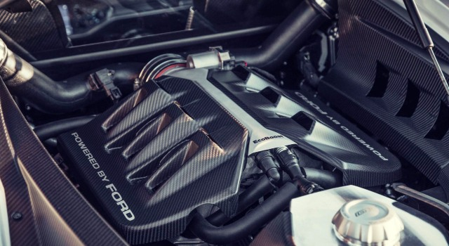2020 Ford GT engine