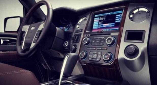 2019 Ford Ranchero interior