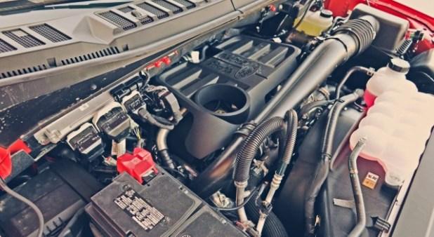 2020 Ford Excursion diesel engine