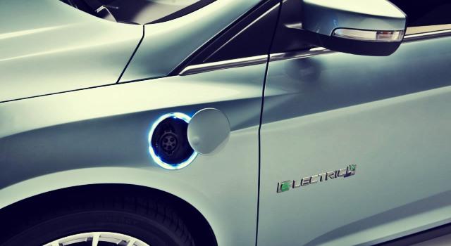 2020 Ford Model E charging port