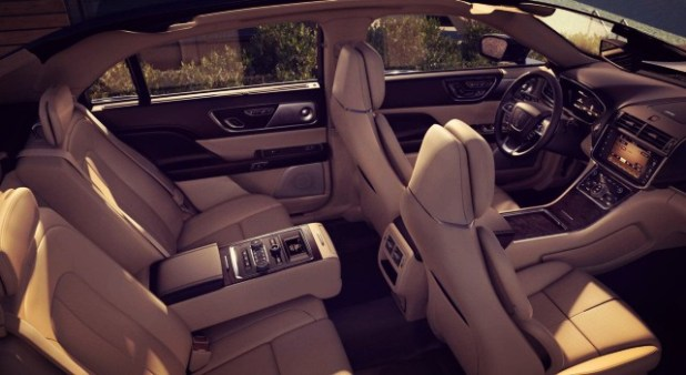 2020 Lincoln Continental interior