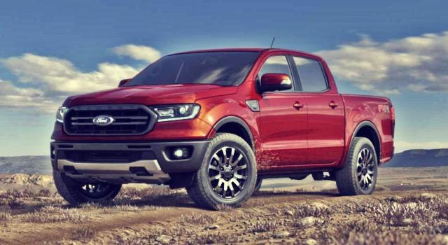2020 Ford Ranger Hybrid exterior