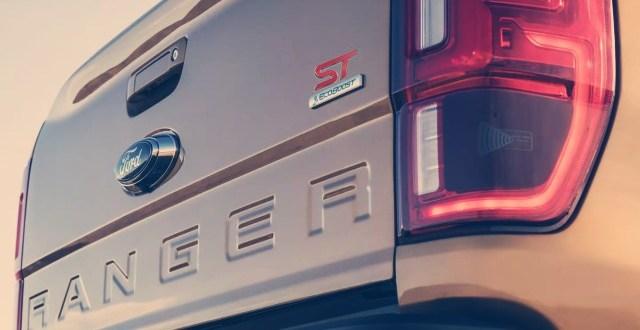 2021 Ford Ranger ST badge