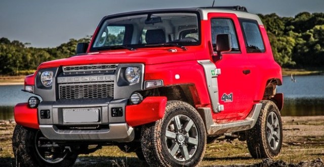 Ford Troller T4 exterior
