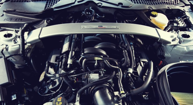 2020 Ford Mustang Shelby GT350 engine