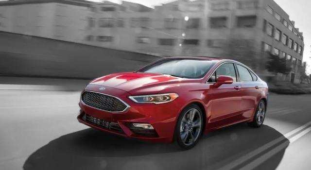 2020 Ford Fusion Sport design