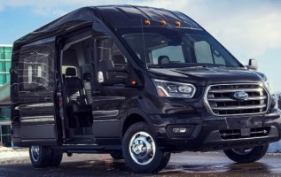 2020 Ford Transit grille