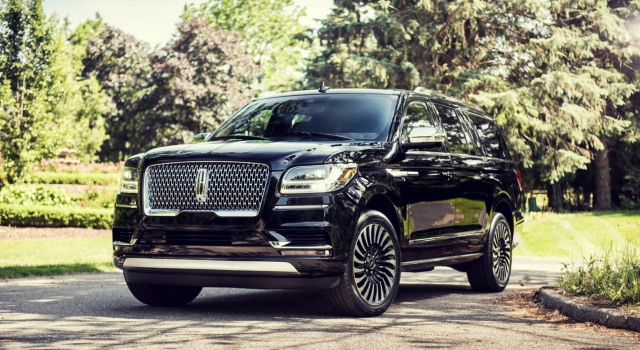 2020 Lincoln Navigator Black Label Exterior