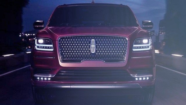 2020 Lincoln Mark LT grille