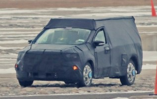 2021 Ford Courier Spy Photo