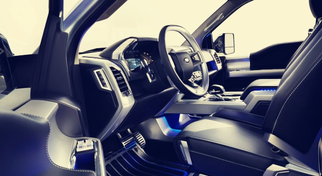 2020 Ford Atlas interior