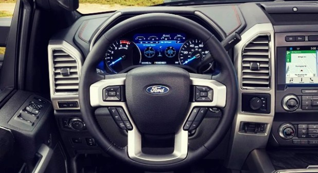 2020 Ford F-250 King Ranch interior