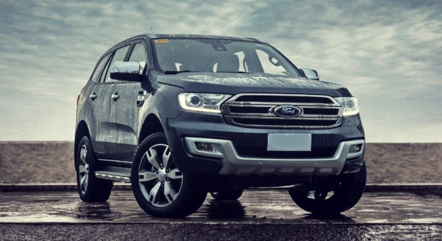2020 Ford Everest Titanium exterior