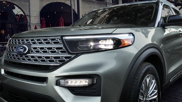 2021 Ford Explorer headlights