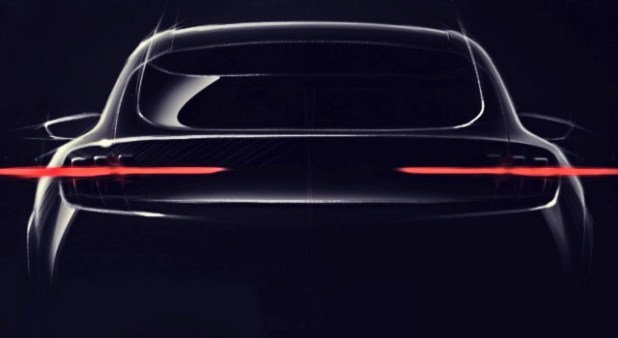 2021 Ford Mach E rear